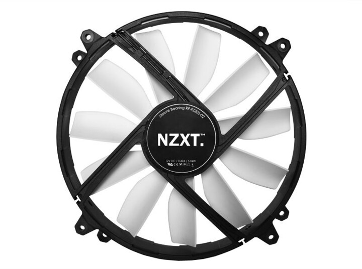 NZXT FZ-200 Airflow ventilátor - 200mm