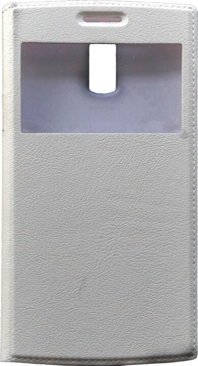 DOOGEE flipové pouzdro pro Doogee DG580, bílé