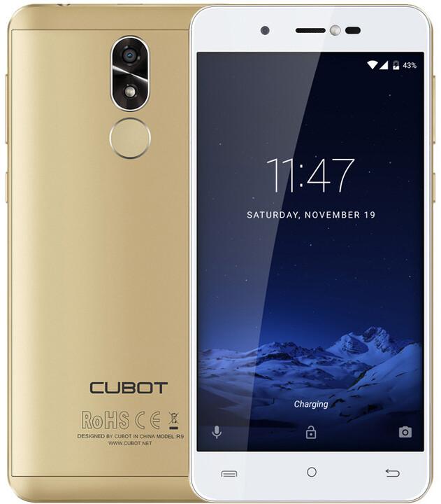 CUBOT R9 - 16GB, zlatá