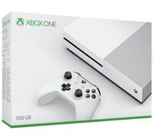 XBOX ONE S, 500GB, bílá - ZQ9-00012 + Hra Gears of War 4