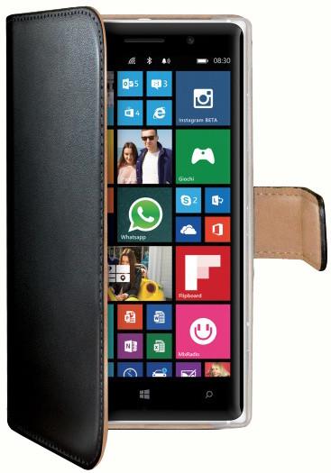 CELLY Wally pouzdro pro Nokia Lumia 830, černá
