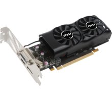 MSI GeForce GTX 1050 TI 4GT LP, 4GB GDDR5