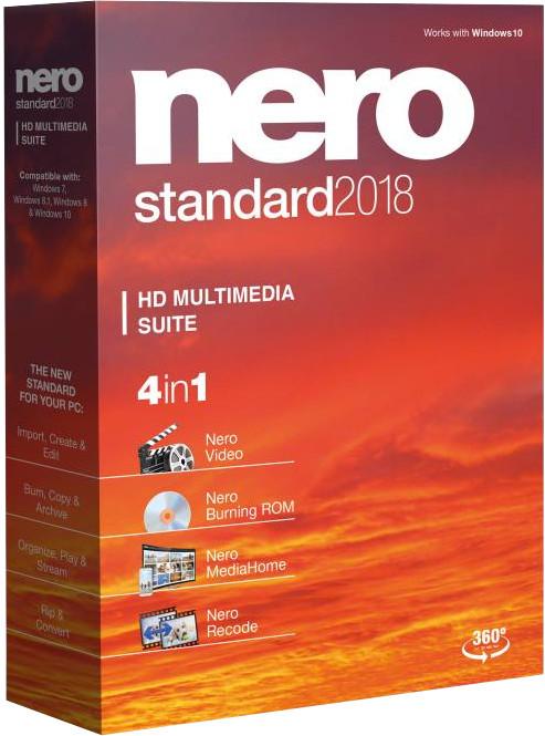 Nero 2018 Standard CZ