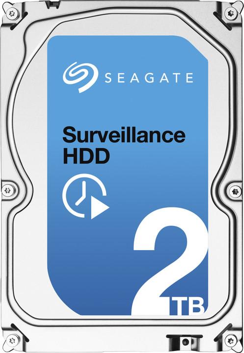 Seagate Surveillance - 2TB + Rescue
