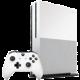XBOX ONE S, 1TB, bílá  + Gamepad Microsoft, bezdrátový, bílý v ceně 1700 kč