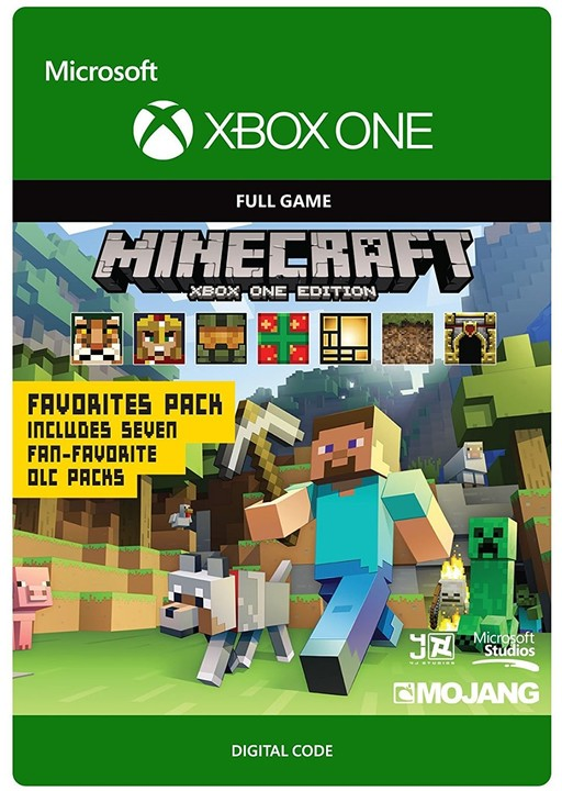 Minecraft: Xbox One Edition Favorites Pack (Xbox ONE) - elektronicky