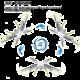 SYMA kvadrokoptéra X5HW 4, RTF, s kamerou, WiFi, RC set 2,4GHz, modrá