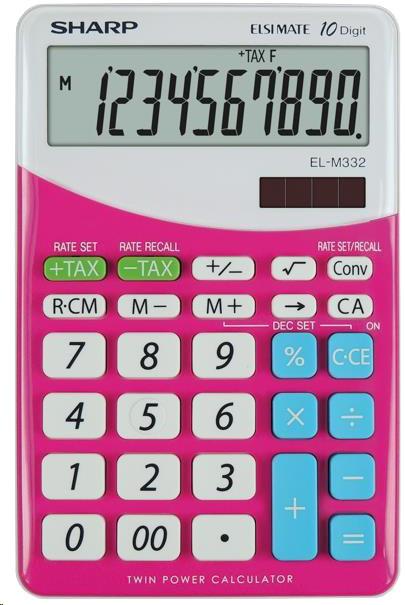 Sharp SH-ELM332BPK, růžová