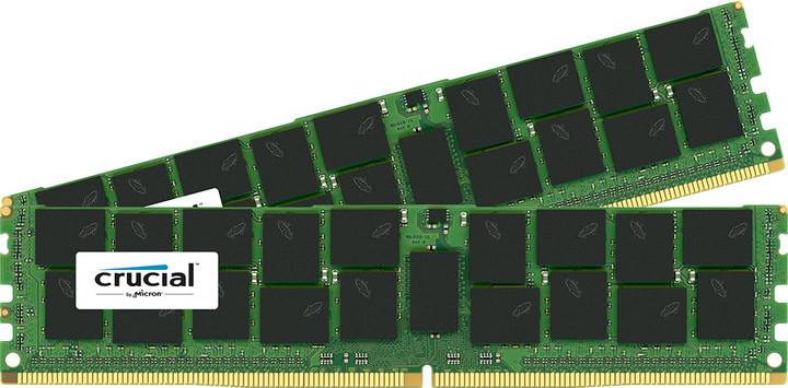 Crucial Server Memory 32GB (2x16GB) DDR4 2133, ECC, Dual Ranked