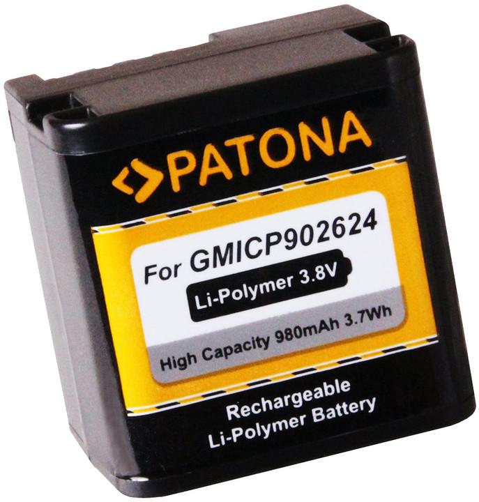 Patona baterie pro videokameru Garmin VIRB X/XE 980mAh Li-Pol