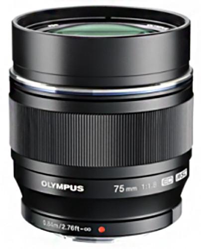 Olympus M. ZUIKO DIGITAL ED 75mm, F1.8 - černá