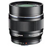 Olympus M. ZUIKO DIGITAL ED 75mm, f1.8 - černá - V311040BE000