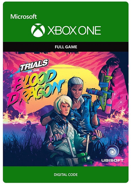 Trials of the Blood Dragon (Xbox ONE) - elektronicky