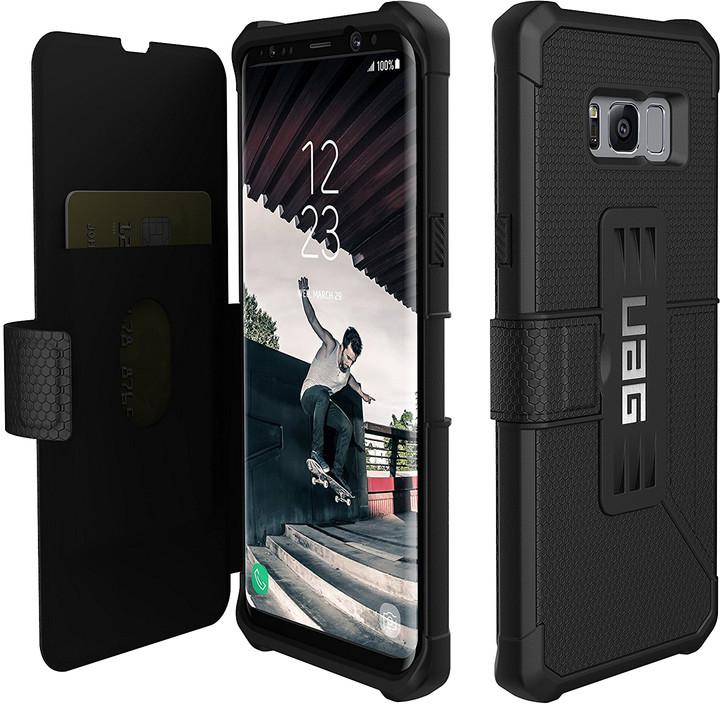 UAG metropolis case Black, black - Samsung Galaxy S8+