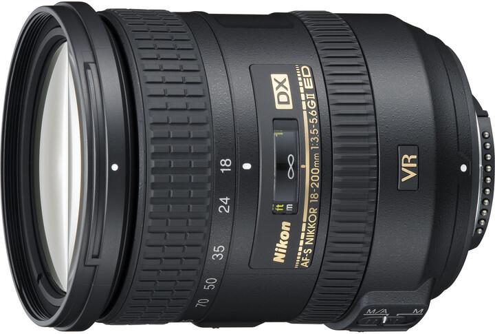 Nikkor 18-200mm F3.5-5.6G AF-S DX VR II