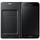 Samsung flipové s kapsou pro Galaxy J3, černé