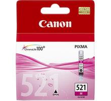 Canon CLI-521 M, purpurová - 2935B001