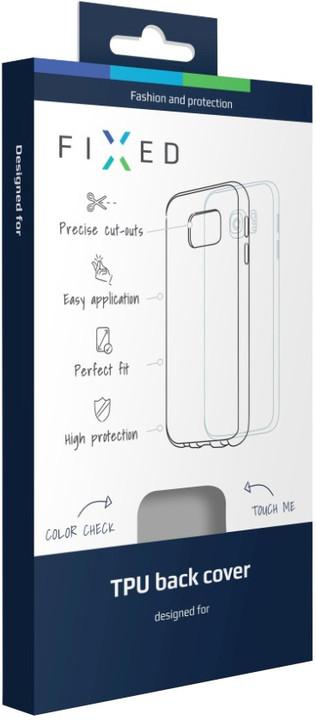 FIXED gelové pouzdro pro Huawei Y6 II, bezbarvá