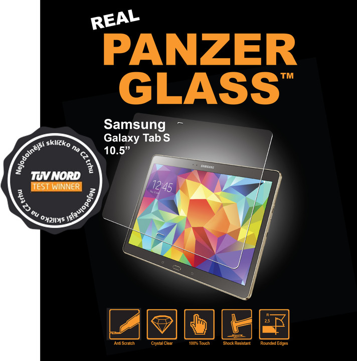 PanzerGlass ochranné sklo na displej Samsung Galaxy Tab S 10.5