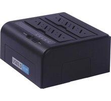 "PremiumCord USB 3.0 dokovací stanice pro dva 2.5""/3.5"" SATA HDD - 8592220010645"