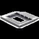 """Gembird MF-95-01 kovový montážní rámeček pro 2.5"""" do 5.25"""" šachty"""