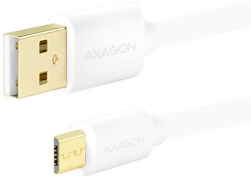 AXAGON BUMM-AM02QW, 0.2 m, bílý