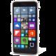 EPICO pružný plastový kryt pro Nokia Mi Lumia 640 RONNY GLOSS - bílý transparentní