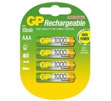 GP AAA Ni-MH 1000mAh, 4ks - 1032114080