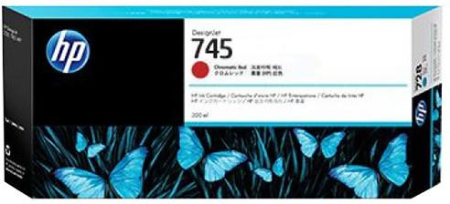 HP F9K06A no. 745 (300ml), chromatic red