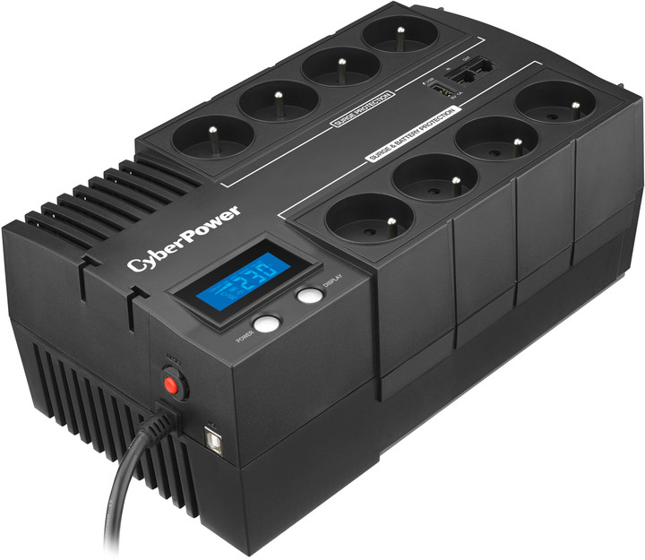 CyberPower BRICs Series II SOHO 1000VA/600W, LCD