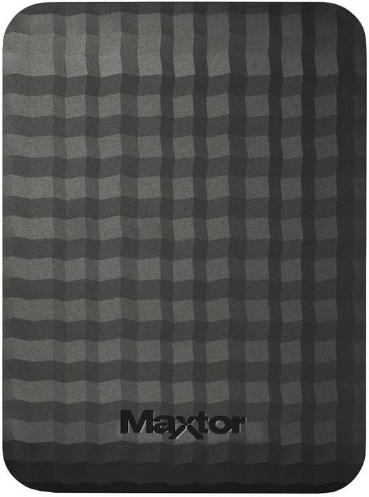 Maxtor M3 Portable - 4TB, černá