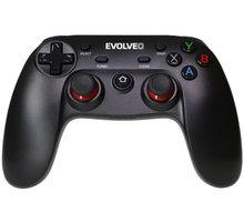 EVOLVEO Fighter F1, bezdrátový gamepad pro PC, PlayStation 3, Android box/smartphone - GFR-F1