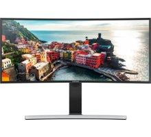 """Samsung S34E790C - LED monitor 34"""" - LS34E790CNS/EN + Herní sluchátka vibrační Genius HS-G500V (v ceně 449,-)"""