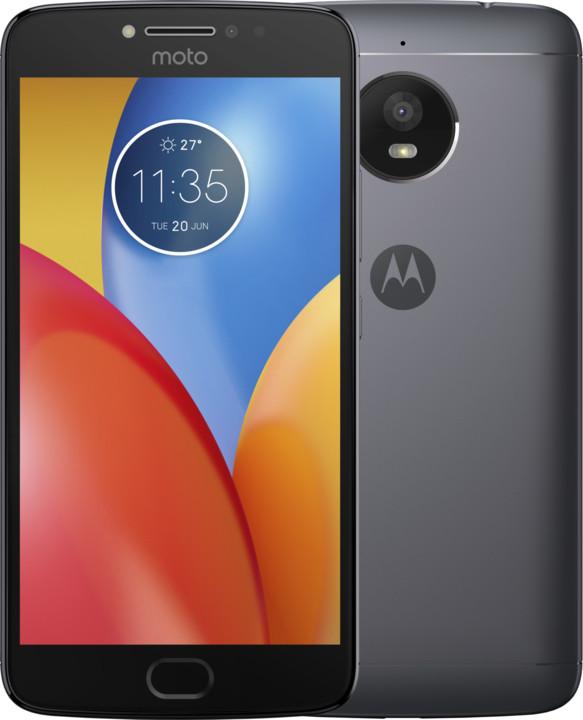Motorola Moto E Plus, šedá