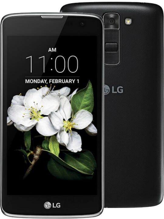 LG K7 (X210), černá/black
