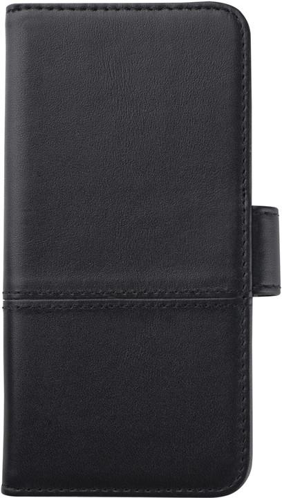HOLDIT Wallet Case magnet Apple iPhone 6s,7 - Black Leather