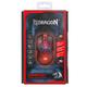 Defender Redragon Lavawolf, černočervená