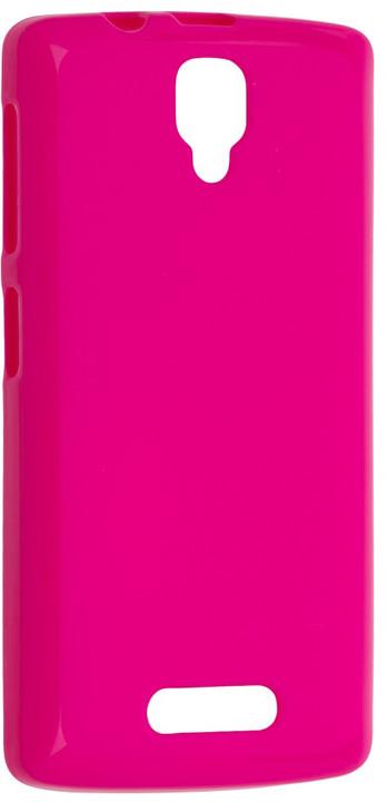 FIXED TPU gelové pouzdro pro Lenovo A1000, růžová