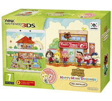 Nintendo New 3DS Animal Crossing HHD + Card Set - NI3H97018