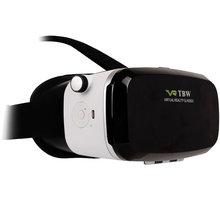 3D virtuální brýle VR-X2 (VR BOX), bluetooth, bílá - HAPPY-3D-VR-X2BT