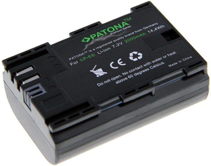 Patona baterie pro Canon LP-E6 2000mAh