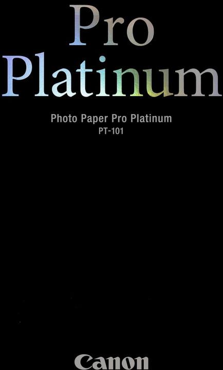Canon Foto papír PT-101 Pro Platinum, A2, 20 ks, 300g/m2, lesklý