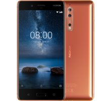 Nokia 8, lesklá měděná