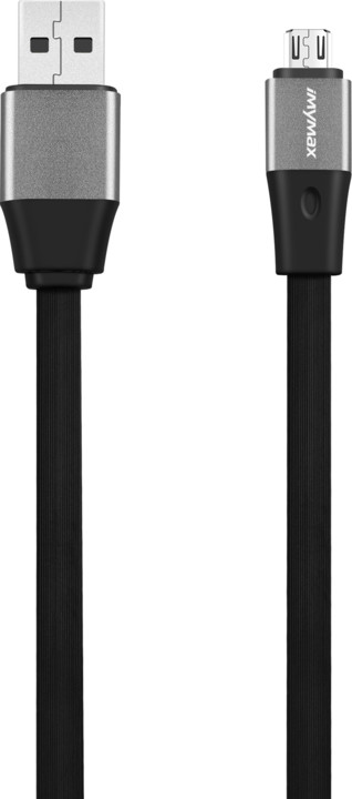 iMyMax Business Plus Micro USB Cable, černá