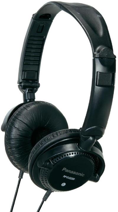 Panasonic RP-DJS200E-K, černá