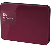 WD My Passport ULTRA - 500GB, berry - WDBWWM5000ABY-EESN