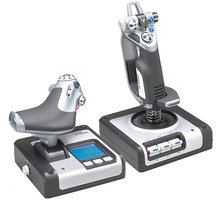Logitech G Saitek X52 Flight Control System - 945-000006