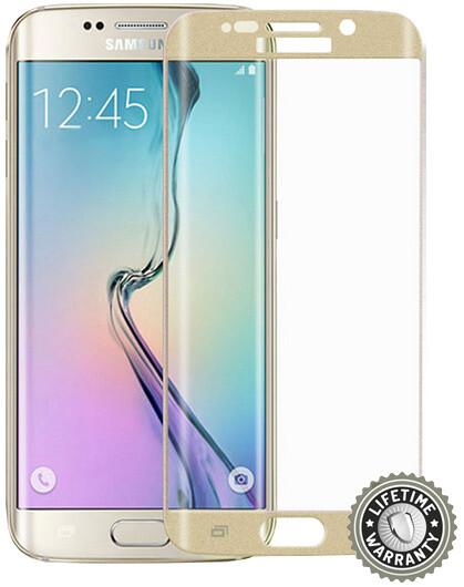 Screenshield ochrana displeje Tempered Glass pro Samsung Galaxy S6 (SM-G925F), zlatá