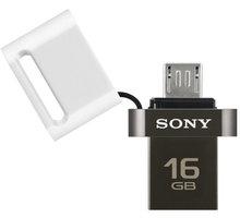 Sony Micro Vault OTG SA3 Duo - 16GB, bílá - USM16SA3W