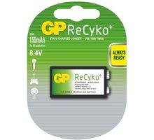 GP Recyko+ 9V Ni-MH 150mAh, 1ks - 1033511000